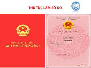 Thủ tục sang tên sổ đỏ nhanh tại Hà Nội