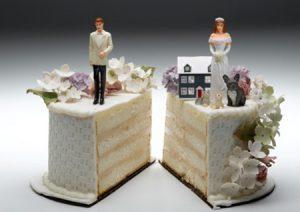 phân chia về tài sản khi ly dị