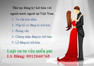Luật Trí Hùng tư vấn kết hôn với người nước ngoài