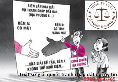 Thủ tục hòa giải tranh chấp đất đai tại Hà Nội