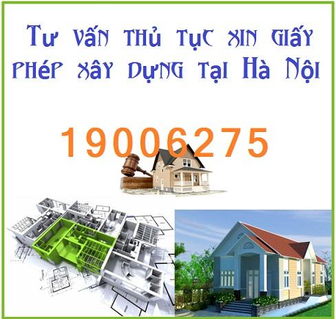 Tư vấn thủ tục xin giấy phép xây dựng tại Hà Nội